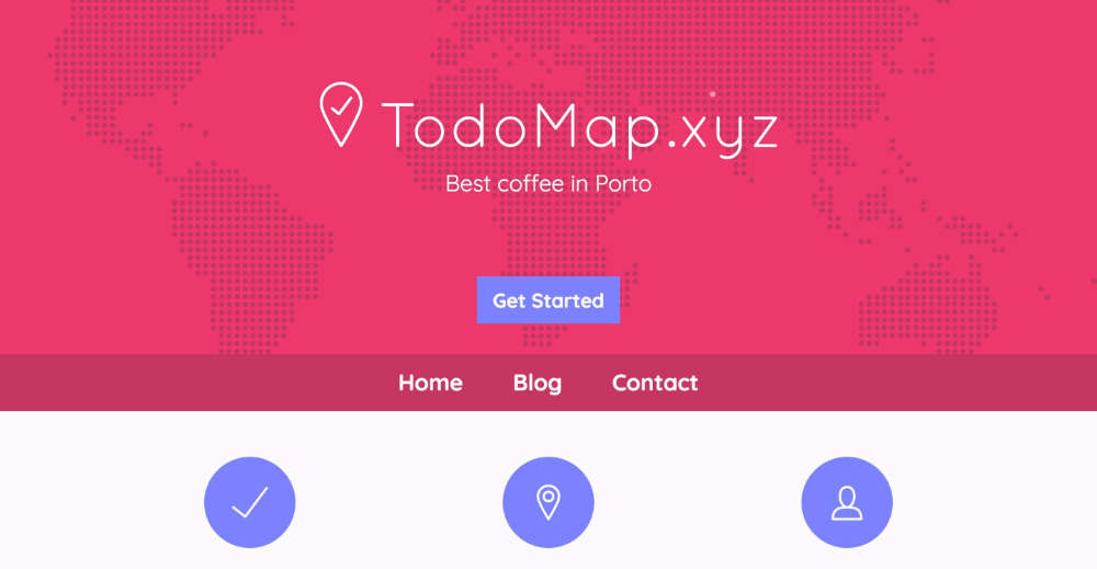 TodoMap.xyz Screenshot